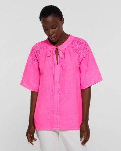 sisley καλοκαιρινή collection μπλούζα φούξ κοντομάνικη