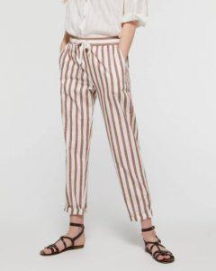 sisley παντελόνι ριγέ καλοκαιρινή collection
