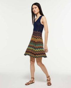 sisley ριγέ μίνι φόρεμα καλοκαιρινή collection
