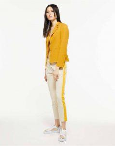 sisley κίτρινο σακάκι καλοκαιρινή collection