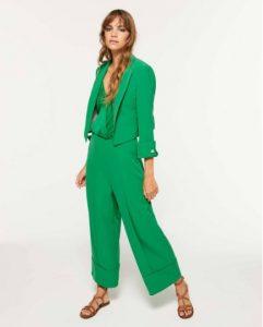 sisley πράσινο σακάκι κοντό καλοκαιρι