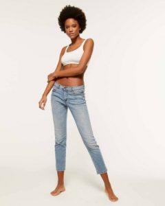 sisley τζιν παντελόνι slim στενό καλοκαιρινή collection