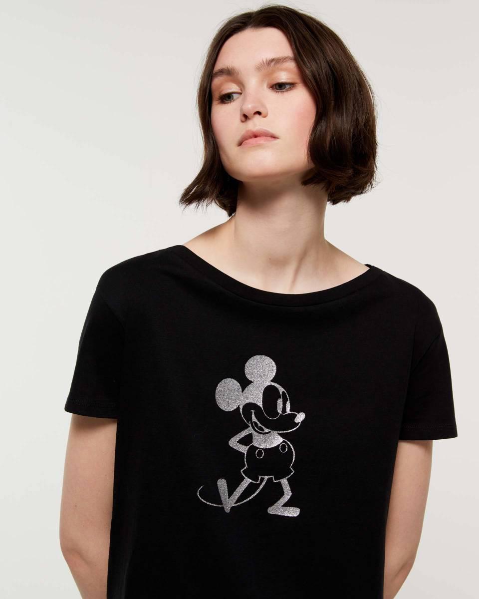 d28e0dfb4c ... sisley μπλούζα μαύρη disney κοντομάνικη μίκι μάους καλοκαιρινή  collection ...