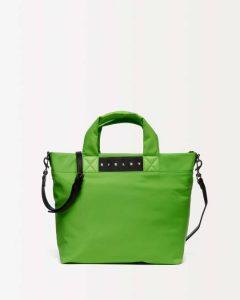sisley τσάντα πράσινη μεγάλη καλοκαιρινή collection