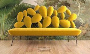 καναπές cutout σχέδια πλάτη