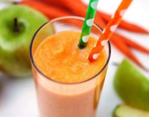 smoothie από καρότο
