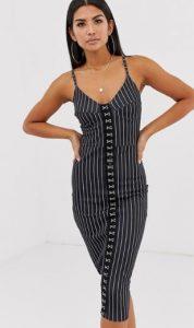 στενό μαύρο φόρεμα γυναικείο