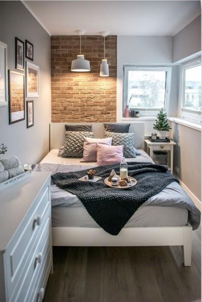 10 Υπέροχες ιδέες για να διακοσμήσεις ένα μικρό υπνοδωμάτιο