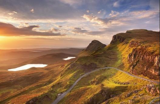 χαιλαντς Σκωτία βουνά καλοκαίρι σκνίπες