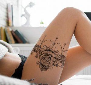 ζαρτιέρα τατουάζ,ediva.gr
