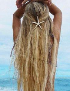 εντυπωσιακό κοκαλάκι μαλλιών σε σχήμα αστερία