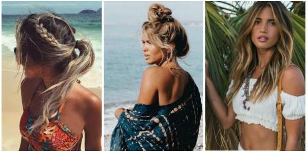 40 Ιδέες για χτενίσματα μαλλιών στην παραλία!