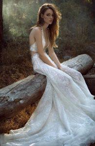 halter νυφικό φόρεμα ediva.gr