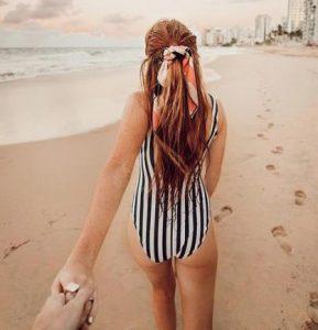 κορδέλα στα μαλλιά