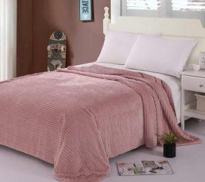 κουβέρτα με κοτλέ υφή κρεβατοκάμαρας