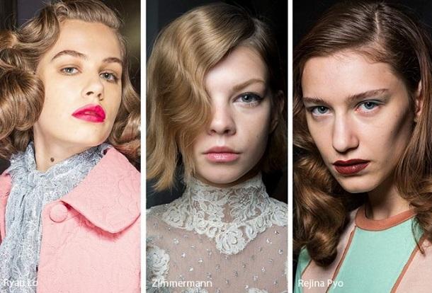 χτενίσματα για κυματιστά μαλλιά χειμώνας 2020