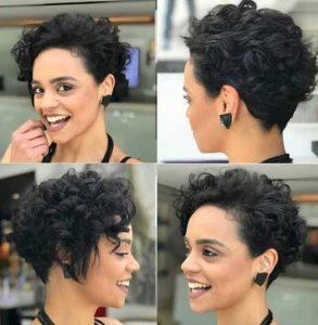 χτένισμα για κατσαρά μαλλιά