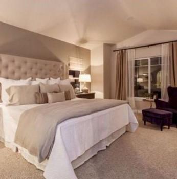 μπεζ υπνοδωμάτιο κρεβάτι χρώμα χαρακτήρα