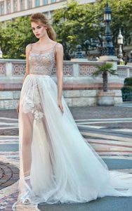 νυφικά φορέματα διαφάνεια