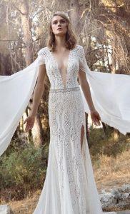 νυφικά φορέματα σκίσιμο πλάι