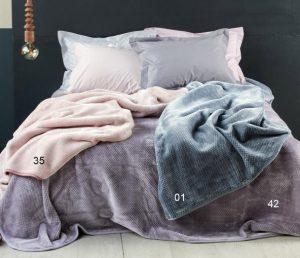 διάφορα χρώματα για βελουτέ κουβέρτα κεντια
