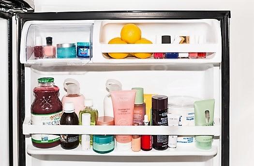 6 Προϊόντα ομορφιάς που πρέπει να αποθηκεύεις στο ψυγείο!