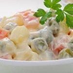 συνταγή για ρώσικη σαλάτα