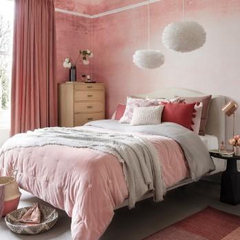 ροζ υπνοδωμάτιο κρεβάτι χρώμα χαρακτήρα