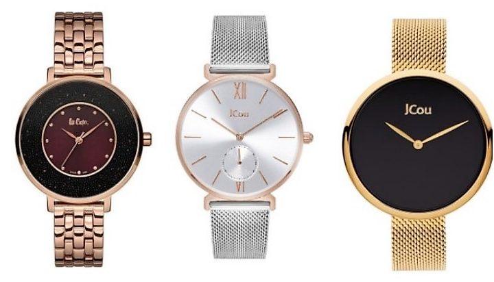 Αδιάβροχα γυναικεία ρολόγια με μπρασελέ!