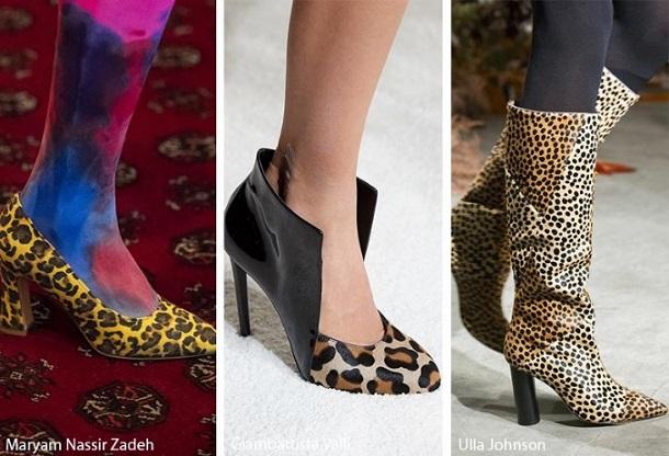 animal print φθινοπωρινά γυναικεία παπούτσια 2019