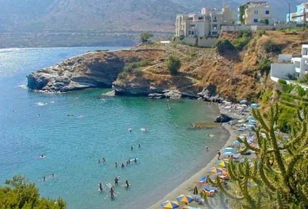 παραλία Μπαλί Κρήτη διακοπές