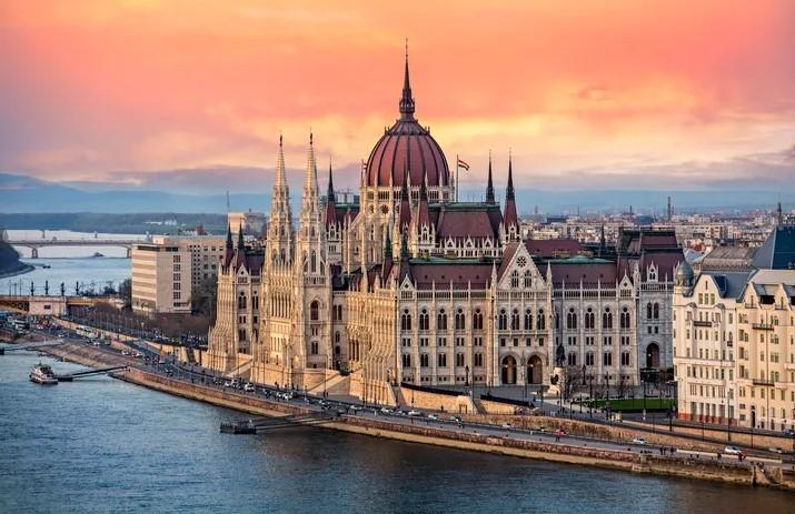 Βουδαπέστη ποτάμι Δούναβης