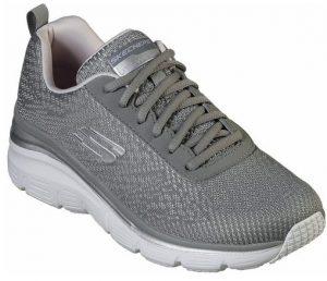 γκρι αθλητικά παπούτσια γυναικεία για τρέξιμο γυμναστήριο