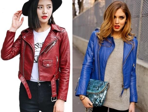 γυναικεία δερμάτινα jackets