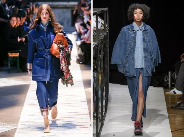 γυναικεία denim μπουφάν φθινόπωρο 2019