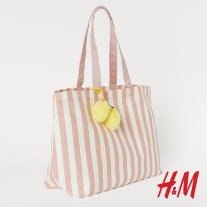 καλοκαιρινή υφασμάτινη τσάντα διακοπών
