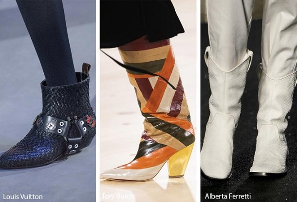καουμπόικες μπότες για γυναίκες