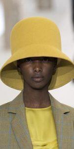 κίτρινο κλος καπέλο