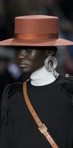 καπέλο σομόν γείσο αξεσουάρ χειμώνα 2020