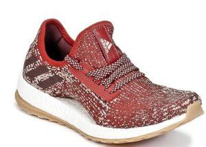 κόκκινα παπούτσια με άσπρη σόλα γυναικεία για τρέξιμο γυμναστήριο