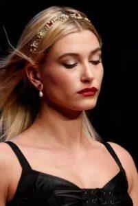 λεπτή κορδέλα μαλλιών με πέρλες αξεσουάρ χειμώνα 2020