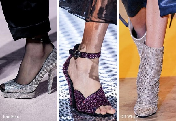 χειμερινά γυναικεία παπούτσια με στρας