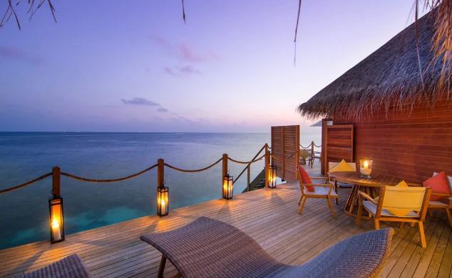 Μαλδίβες ξενοδοχείο μπροστά στη θάλασσα