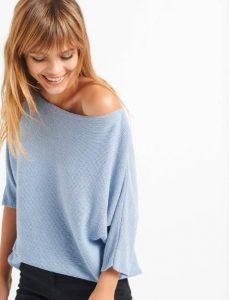 μεταλλιζέ γυναικεία μπλούζα