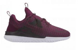 μοβ αθλητικά παπούτσια για τρέξιμο άσπρη σόλα