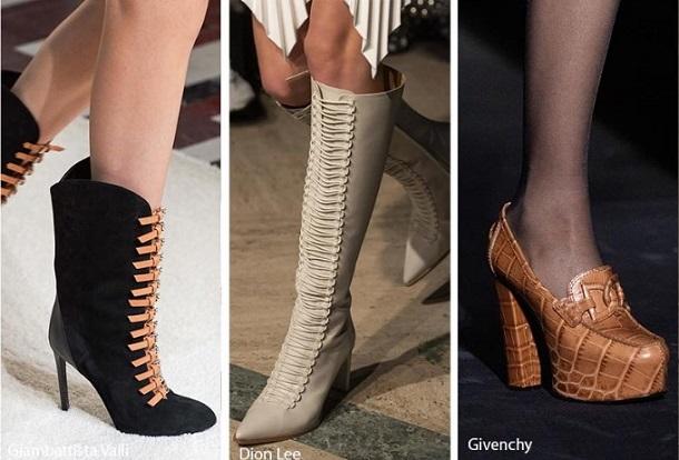 Οι τάσεις στα γυναικεία παπούτσια για τον Χειμώνα 2019-2020