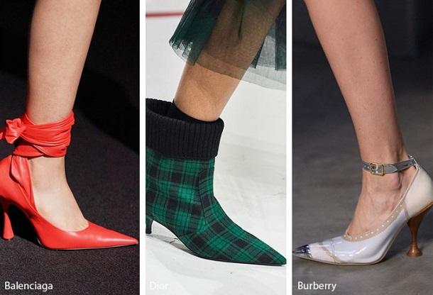 μυτερά γυναικεία παπούτσια
