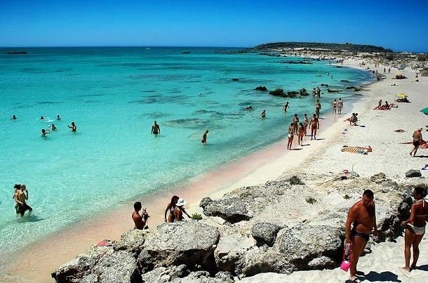 καλύτερες παραλίες Κρήτη Ελαφονήσι