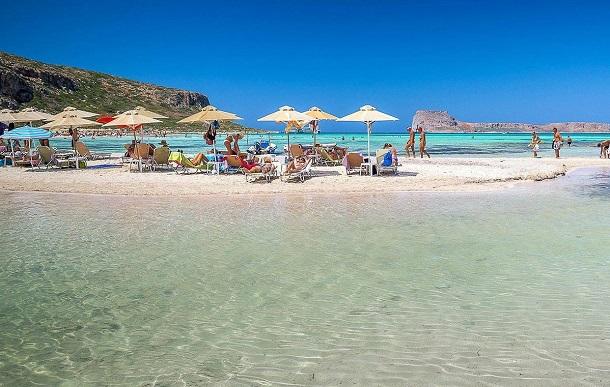 εντυπωσιακές παραλίες γαλανά νερά