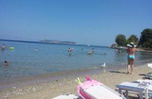 παραλία λιμένα θάσου